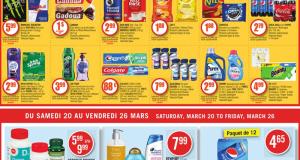 Circulaire Pharmaprix du 20 mars au 26 mars 2021