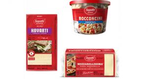 Fromage parmesan - boconcini - mozzarella ou Feta Saputo à 2.48$
