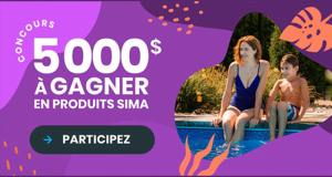 Gagnez 5 000 $ à dépenser chez Sima