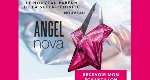 Échantillons gratuits de parfum Angel Nova de Thierry Mugler