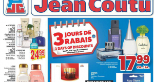 Circulaire Jean Coutu du 1 avril au 7 avril 2021