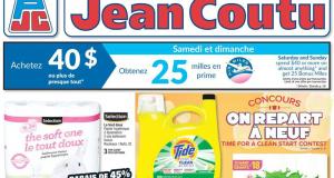 Circulaire Jean Coutu du 15 avril au 21 avril 2021