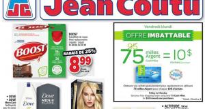 Circulaire Jean Coutu du 22 avril au 28 avril 2021
