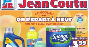 Circulaire Jean Coutu du 29 avril au 5 mai 2021