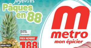 Circulaire Metro du 1 avril au 7 avril 2021