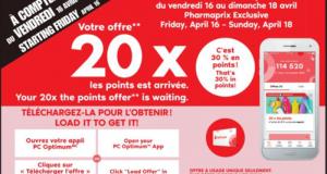 Circulaire Pharmaprix du 17 avril au 22 avril 2021