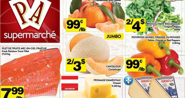 Circulaire Supermarché PA du 5 avril au 11 avril 2021