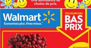 Circulaire Walmart du 1 avril au 7 avril 2021
