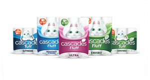 Emballage de 6 rouleaux de papier essuie-tout Cascades Jumbo à 3.44$