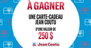 Gagnez 10 cartes cadeaux Jean Coutu de 250$ chacune
