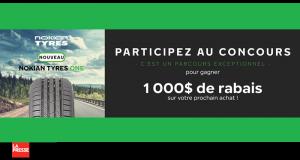 Gagnez 3 chèques-cadeaux Nokian Tyres de 1000 $ chacun