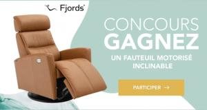 Gagnez un Fauteuil motorisé inclinable Fjords (Valeur de 3400 $)