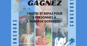 Gagnez un forfait à Auberge Godefroy