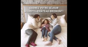 Gagnez un séjour pour deux à l'Hôtel Château-Bromont