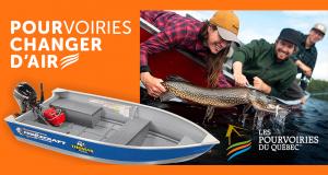 Gagnez une chaloupe de pêche (Valeur de 7000 $)