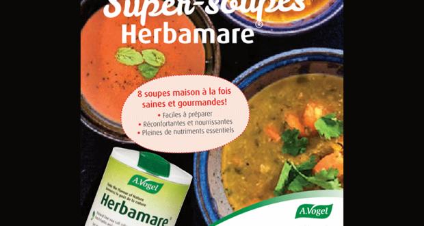 Livre de recettes Super Soupes Herbamare GRATUIT