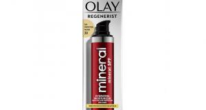 Testez le minéral hydratant pour le visage Olay Regenerist FPS 30