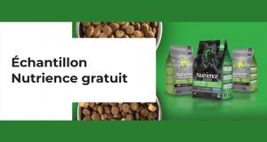 Échantillons gratuits de nourriture pour chaton ou chiot Nutrience