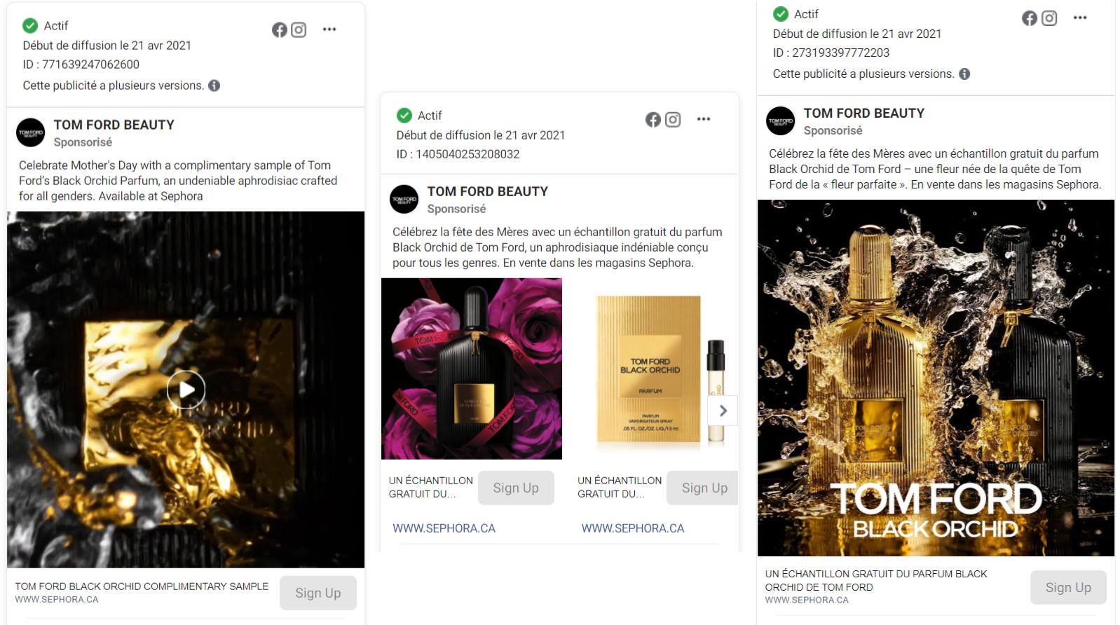 parfum Black Orchid de Tom Ford