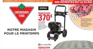 Circulaire Canadian Tire du 10 juin au 16 juin 2021
