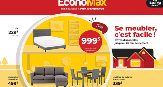 Circulaire EconoMax du 27 avril au 26 mai 2021