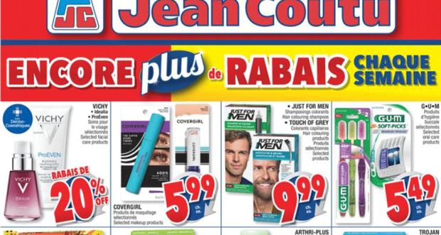 Circulaire Jean Coutu du 13 mai au 19 mai 2021