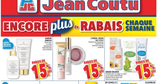 Circulaire Jean Coutu du 10 juin au 16 juin 2021