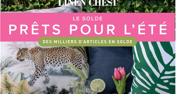 Circulaire Linen Chest du 21 avril au 23 mai 2021