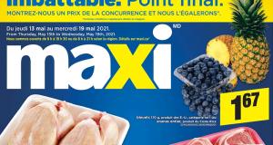 Circulaire Maxi du 13 mai au 19 mai 2021
