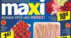 Circulaire Maxi du 6 mai au 12 mai 2021