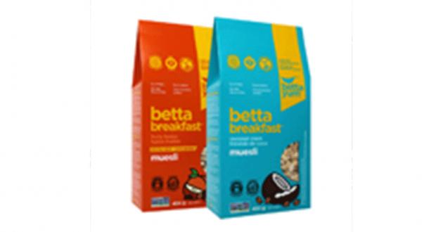 Coupon de 1$ sur une boîte de muesli Betta Breakfast