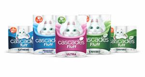 Emballage de 6 rouleaux de papier essuie-tout Cascades à 2.33$