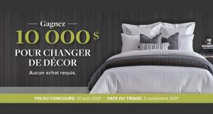 Gagnez 10 000 $ avec Linen Chest pour changer de décor