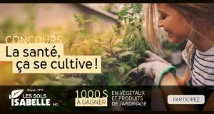 Gagnez 1000 $ en végétaux et produits de jardinage
