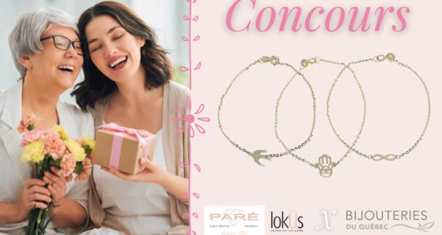 Gagnez un bracelet en or 10k de la collection LokÜs