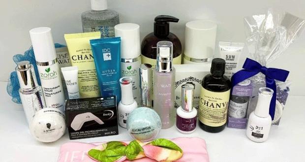 Gagnez un ensemble de produits cosmétiques (Valeur de 500 $)