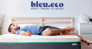 Gagnez un ensemble matelas et oreillers Bleu.eco (Valeur de 1665 $)