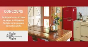 Gagnez un réfrigérateur 30 pouces Elmira Stove Works (Valeur de 3600 $)