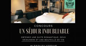 Gagnez un séjour à l'Hôtel Le Saint-Germain Rimouski