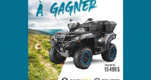 Gagnez un véhicule CFORCE 1000 OVERLAND 2021 (Valeur de 15499 $)