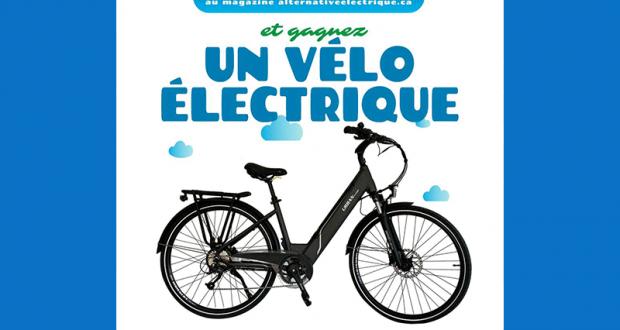 Gagnez un vélo électrique d'une valeur de 2500 $