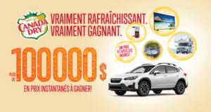Gagnez une voiture VUS Subaru Crosstrek 2021 (Valeur de 25 795 $)