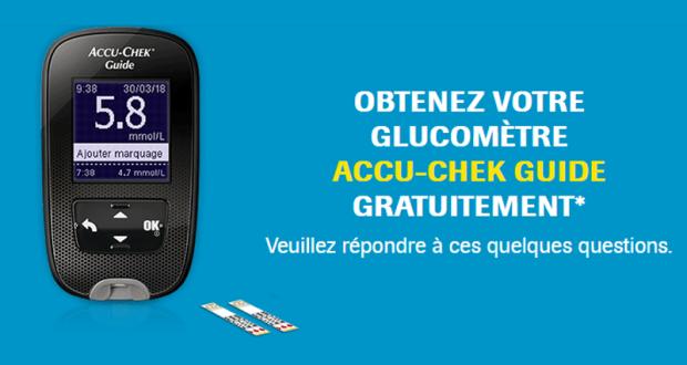 Obtenez gratuitement votre glucomètre Accu-Chek Guide