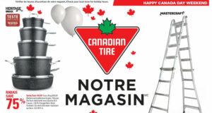 Circulaire Canadian Tire du 1 juillet au 7 juillet 2021