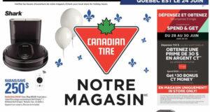 Circulaire Canadian Tire du 24 juin au 30 juin 2021
