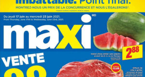 Circulaire Maxi du 17 juin au 23 juin 2021