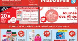 Circulaire Pharmaprix du 12 juin au 18 juin 2021
