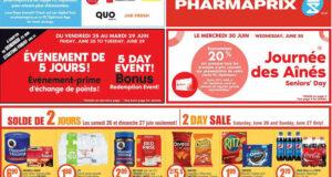 Circulaire Pharmaprix du 26 juin au 2 juillet 2021