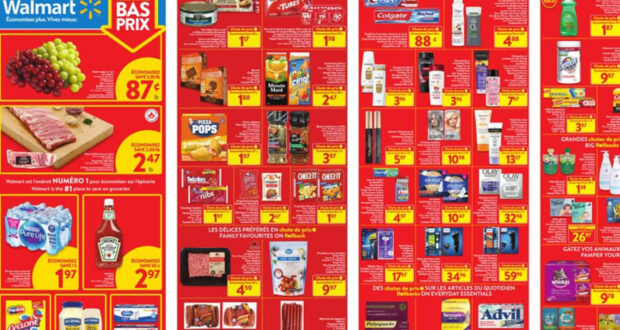 Circulaire Walmart du 17 juin au 23 juin 2021