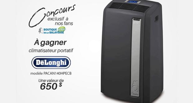 Gagnez un climatiseur De'Longhi North America (Valeur de 650 $)